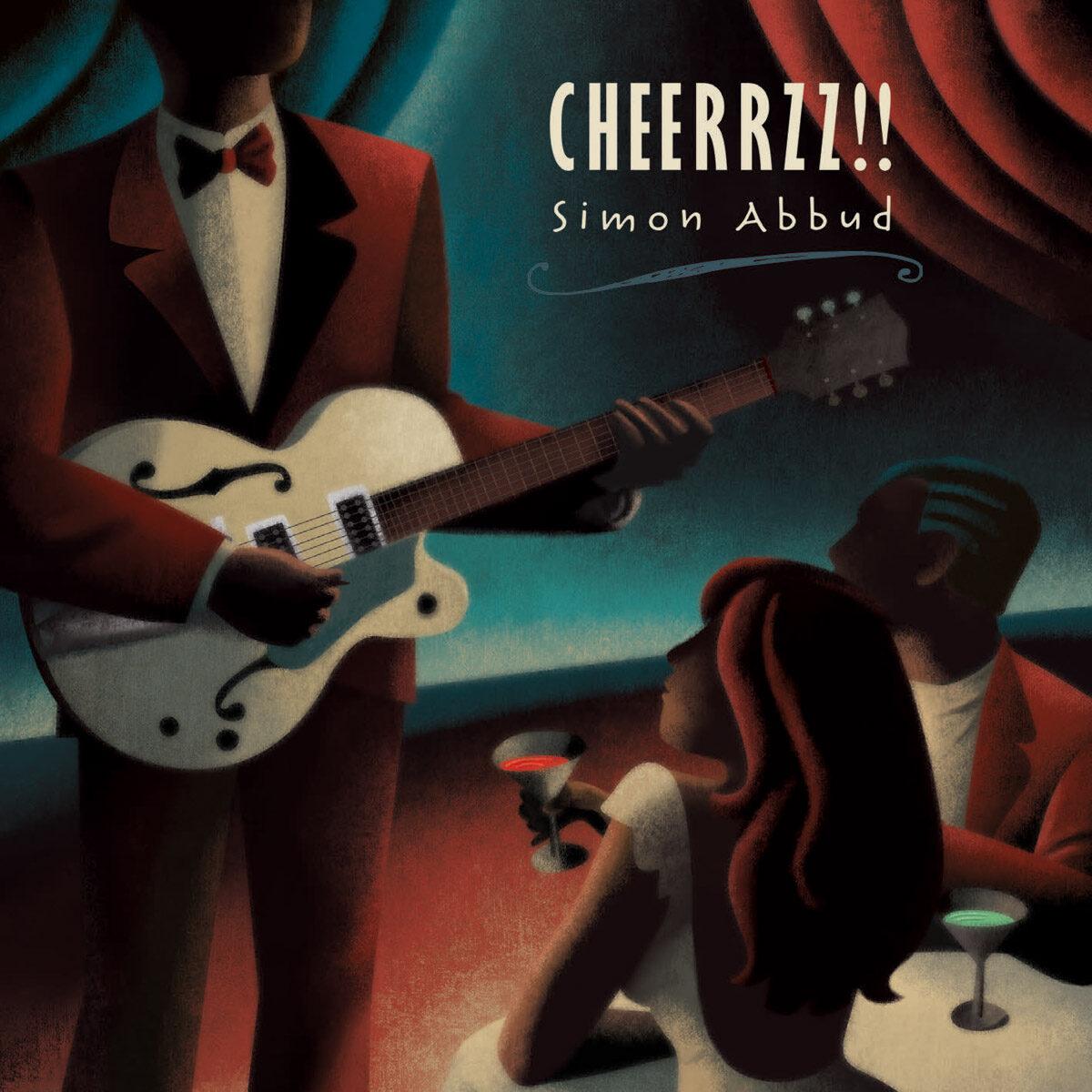Capa para o album de música de Simon Abbud