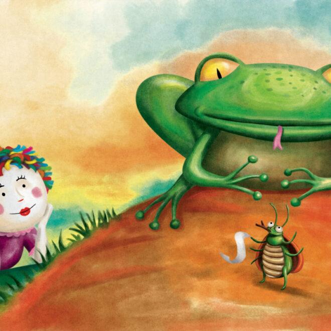 Ilustração para o livro As Jabuticabas, de Monteiro Lobato. Editora Globo.