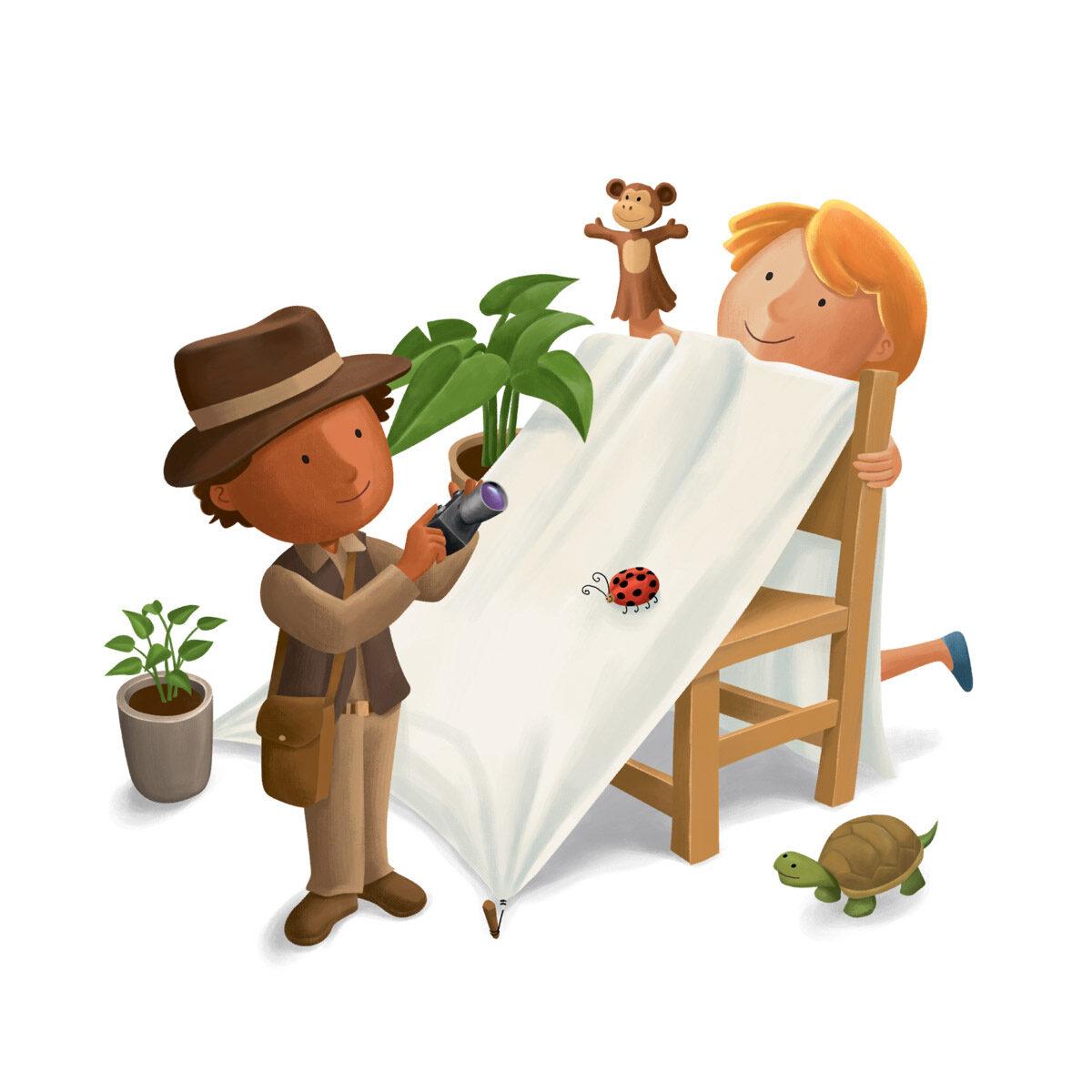 Ilustraçoes de Abertura e Capas para coleção Marcha Criança -  Editora Somos (Abril Educação)