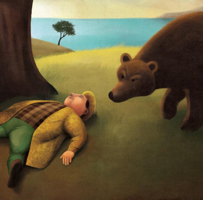 O Urso, a Gansa e o Leão