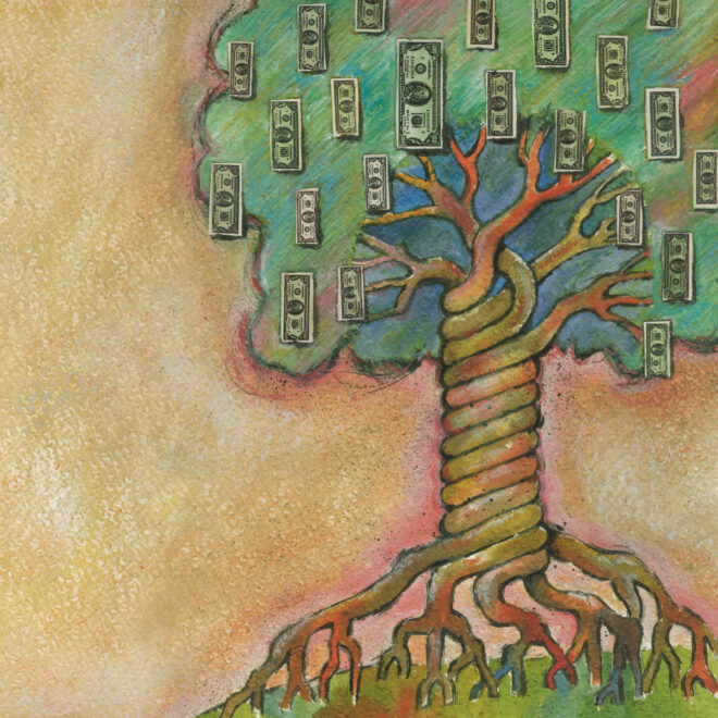 Bovespa - Árvore do Dinheiro