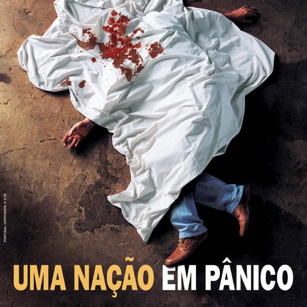 Criação e arte para capa da revista Istoé. Prêmio Esso 2002