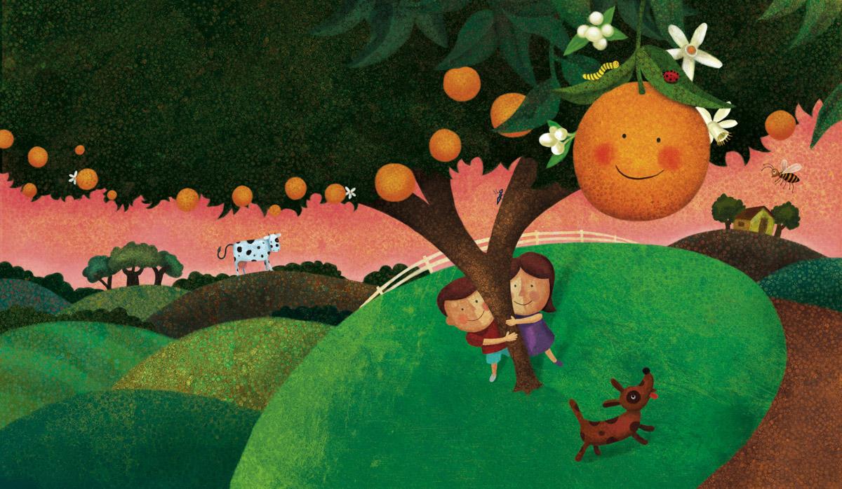 Illustration for children\'s book