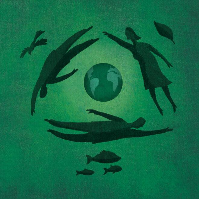 Ilustração para informativo do Grupo Libra