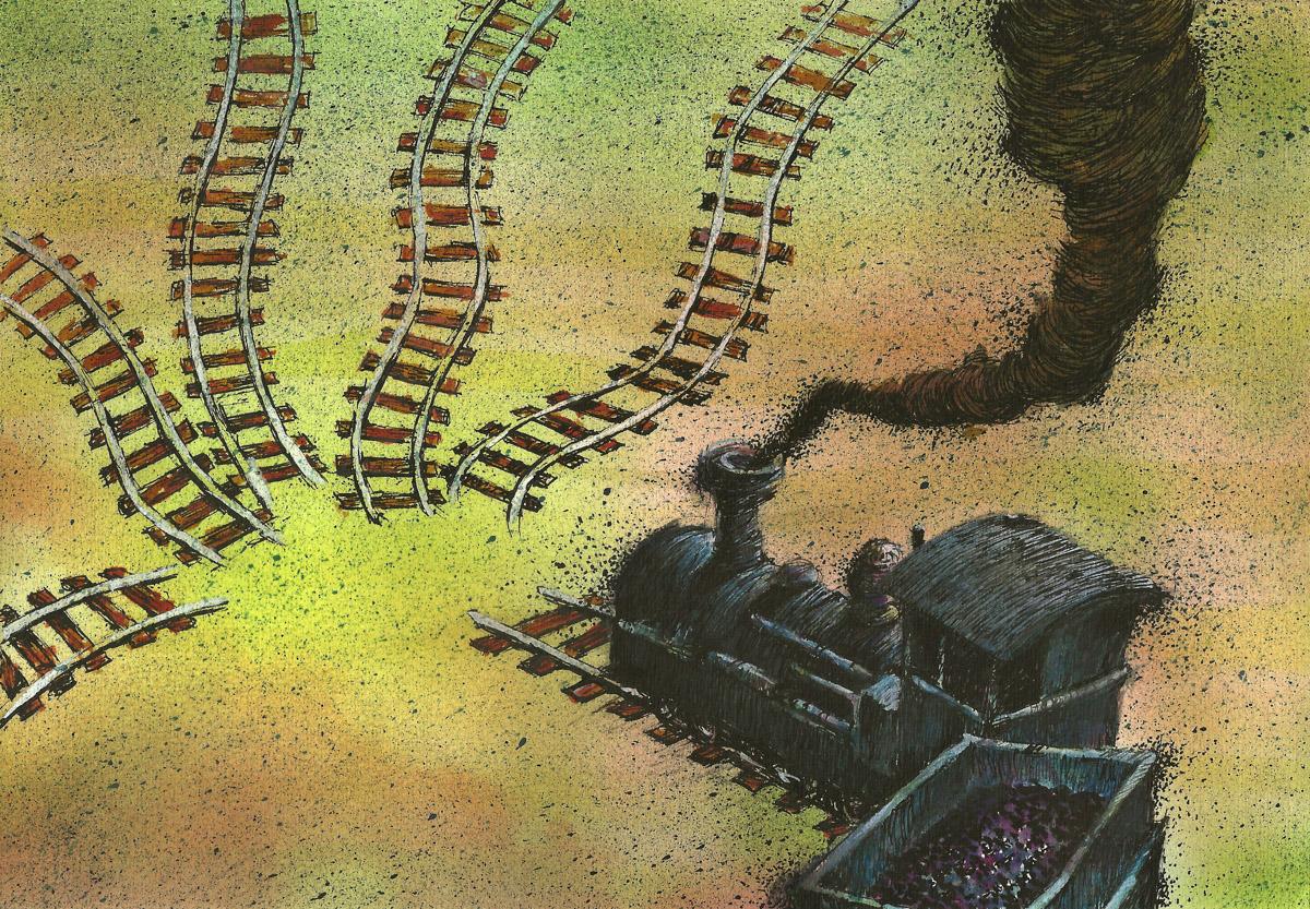 Ilustração para a Revista Veja. Reforma Constitucional