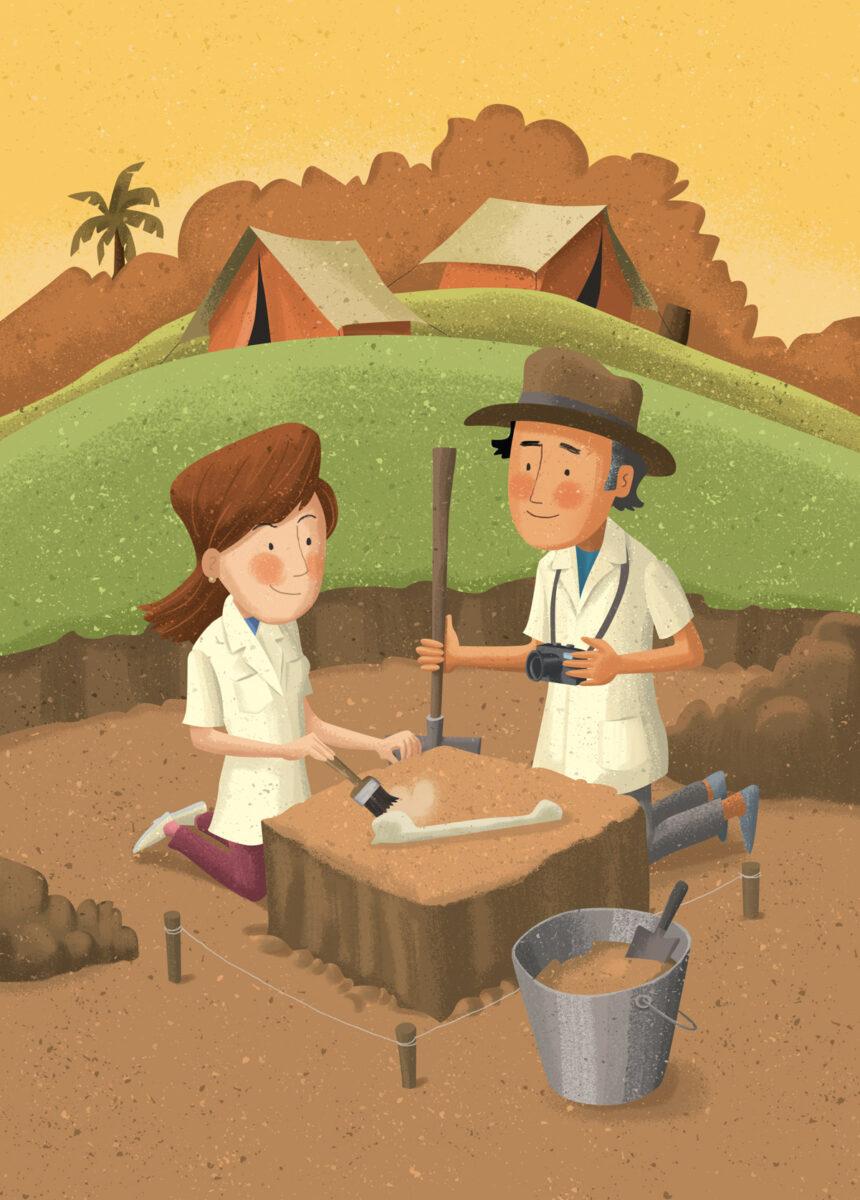 Ilustração para Relatório Ambiental da Santo Antonio Energia. Cliente: Idem